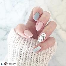 Kocham takie delikatne kolorki paznokci! A wy jakie lubicie? tez delikatnie i...