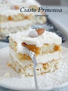 Ciasto Princessa. Przepis po kliknięciu w zdjęcie.
