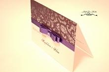 zaproszenia zaproszenie ślubne glamour z koronką  karteczki@onet.pl fb/Perfek...