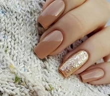 Zimowy manicure ;)