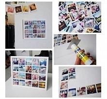 DIY - ramka ze zdjęciami