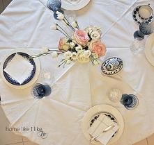 wiosenny stół - homelikeilike.com