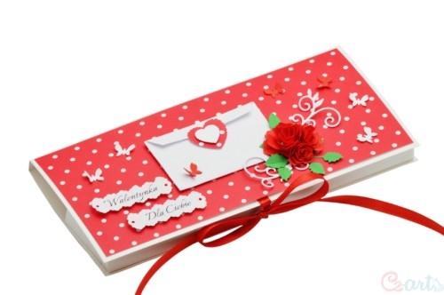 Walentynkowy czekoladnik