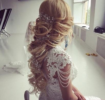 Piękna Fryzura ślubna Na ślub Zszywkapl