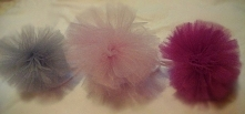 pastelowe pompony z tiulu <3  fb?perfekcyjnakartka