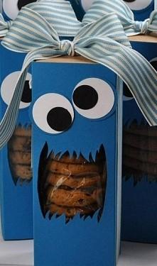Super pomysł na opakowanie ciastek dla najbliższej osoby :D