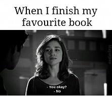 moje życie kończy się za każdym razem gdy kończę książkę xd