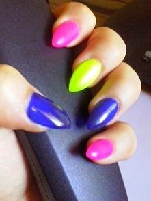 Kolorowe neonki