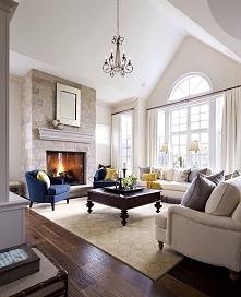 Salon w domu amerykańskim czyli jak wygląda, jak projektuje się living room. Salon w amerykańskim wydaniu to jeden z pierwszych, ale nie ostatni post z serii 'Amerykański D...