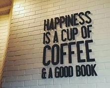 Szczęście to filiżanka kawy...