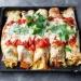Naleśniki zapiekane z kurczakiem i warzywami