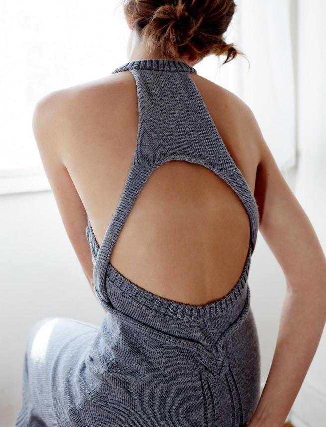 ••knitted dress by Kaylene Milner