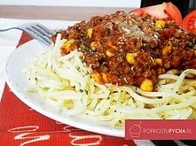 Spaghetti bolognese z własnym sosem bolognese :)