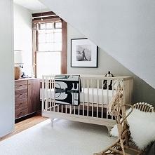 Niezwykła sypialnia dla dziecka w stylu unisex czyli dobra zarówno dla dziewc...