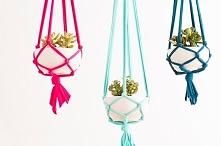 ••Macrame Hanging Planters