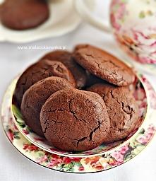 Ciastka podwójnie czekolado...