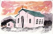 """""""Różowy kościół Alice Rose"""