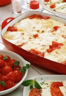 zapiekanka z pomidorów i cu...