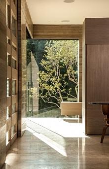 Wnętrze nowoczesnego domu w Meksyku - czyli nowy post u Pani Dyrektor. Wnętrz...