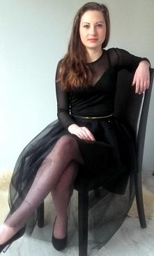 Spódnica z tiulu i body:)w mojej pracowni...