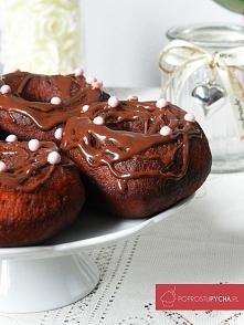 Oponki z polewą czekoladową! ;) Raj dla łasuchów <3