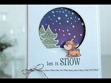 Window Christmas Card