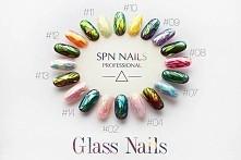 Folia Glass Nails w tak wielu kolorach tylko od SPN Nails