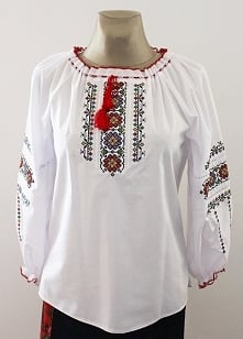 Haftowane koszule folkowe Model nr 1  Rozmiary od 34 do 60 Cena 150 zł