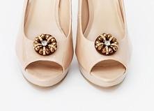 Piękne klipsy do butów w kolorze złota...  Do kupienia w sklepie Madame Allure :)