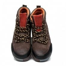 EXT Wysokie buty ze skóry