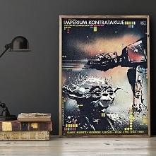 Polski plakat z lat 80., Gw...