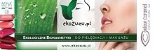 Ekologiczne kosmetyki do pielęgnacji i makijażu dostępne w drogerii: ekozuzu.pl
