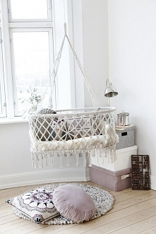 Hanging baby bed :-)