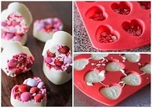 kulinarny pomysł na Walentynki :) kto nie byłby zadowolony z takiego prezentu...