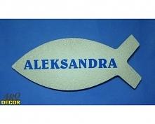 Ryba umożliwia zamieszczenie imion każdego z dzieci przystępujących do Pierws...