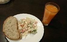fit kolacja - salatka z pom...