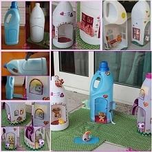 Zabawki dla dzieci z plastikowych butelek. WIĘCEJ PO KLIKNIĘCIU W OBRAZEK.