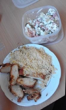 fit obiad- pieczona miodowo...