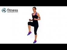 Fat Burning Cardio Workout - 37 Minute Fitness Blender Cardio Workout at Home...