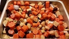 Roast vegetables Warzywa: z...