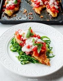 Filet z kurczaka z serem i pomidorami. Przepis po kliknięciu w zdjęcie :)