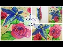 SZKIC #24 FLOWERS | sketchbook challenge