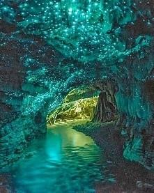 Świecąca jaskinia, Nowa Zelandia