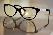 Oprawki, okulary czarno-bia...