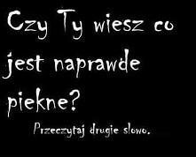 Mordka się cieszy :))  To miłe :3