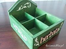 herbaciarka decoupage