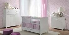 Meble do pokoju niemowlaka ELSA z łóżeczkiem