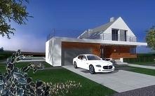 Projekt domu z uwzględnieni...