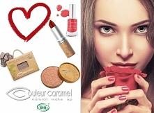 Pojutrze już Walentynki <3 czerwone usta i paznokcie obowiązkowe <3 Najbezpieczniejsze i najpiękniejsze te z Couleur Caramel <3 a na sklepie ekozuzu.pl walentynkowe pro...