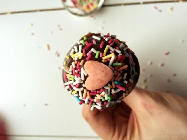 Pieczone lizaki BEZ MĄKI!Pomysł na Walentynkowe słodkości dla drugiej połówki. Przepis po kliknięciu w zdjęcie